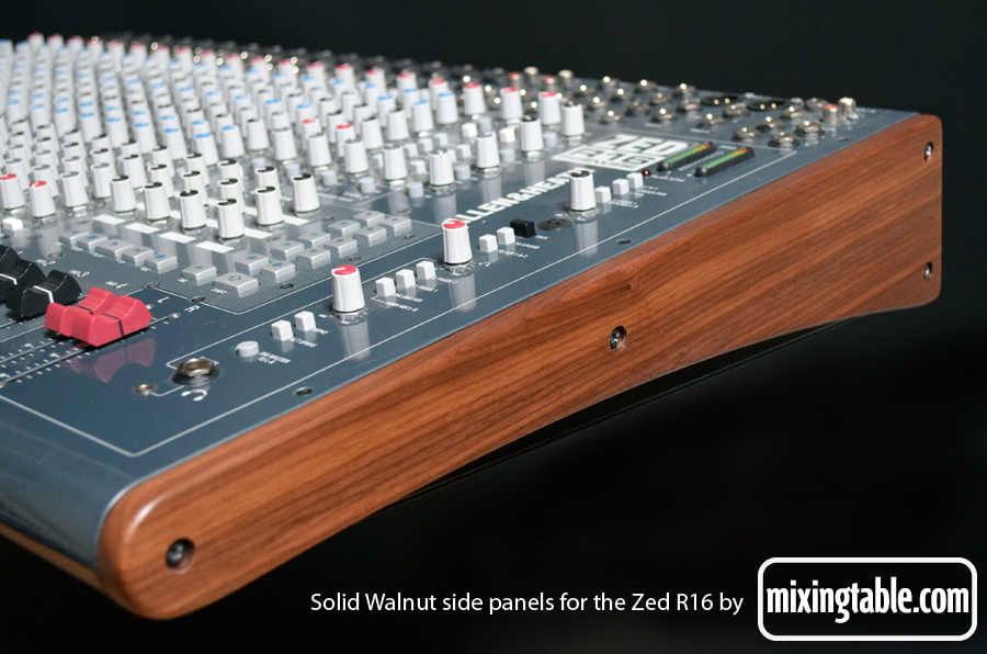 Walnut Zed R16 panels by mixingtable.com