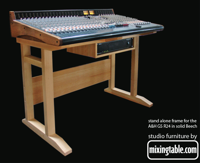 GS R24 Beech desk frame by mixingtable.com