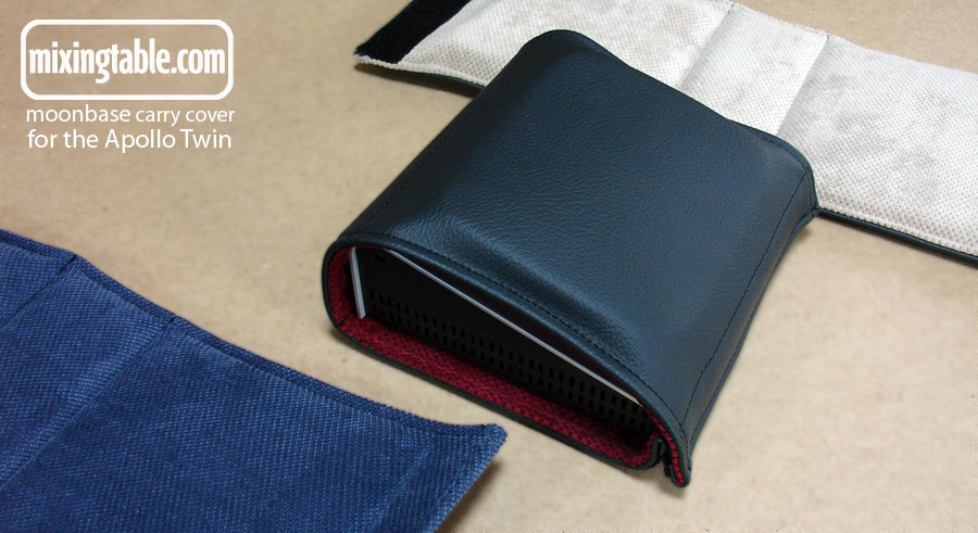 moonbase carry cover for Apollo Twin by mixingtable.com