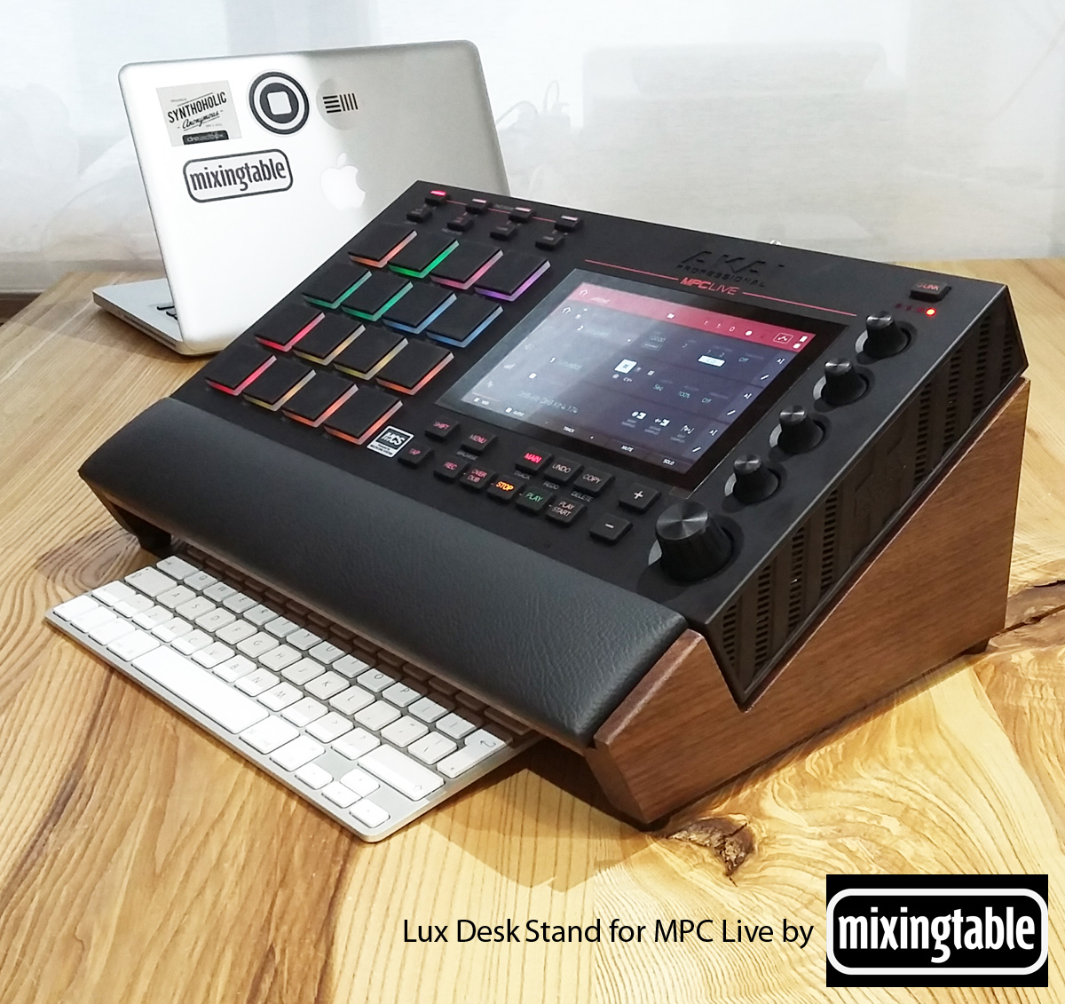 Lux Desk Stand for MPC Live   Mixingtable com