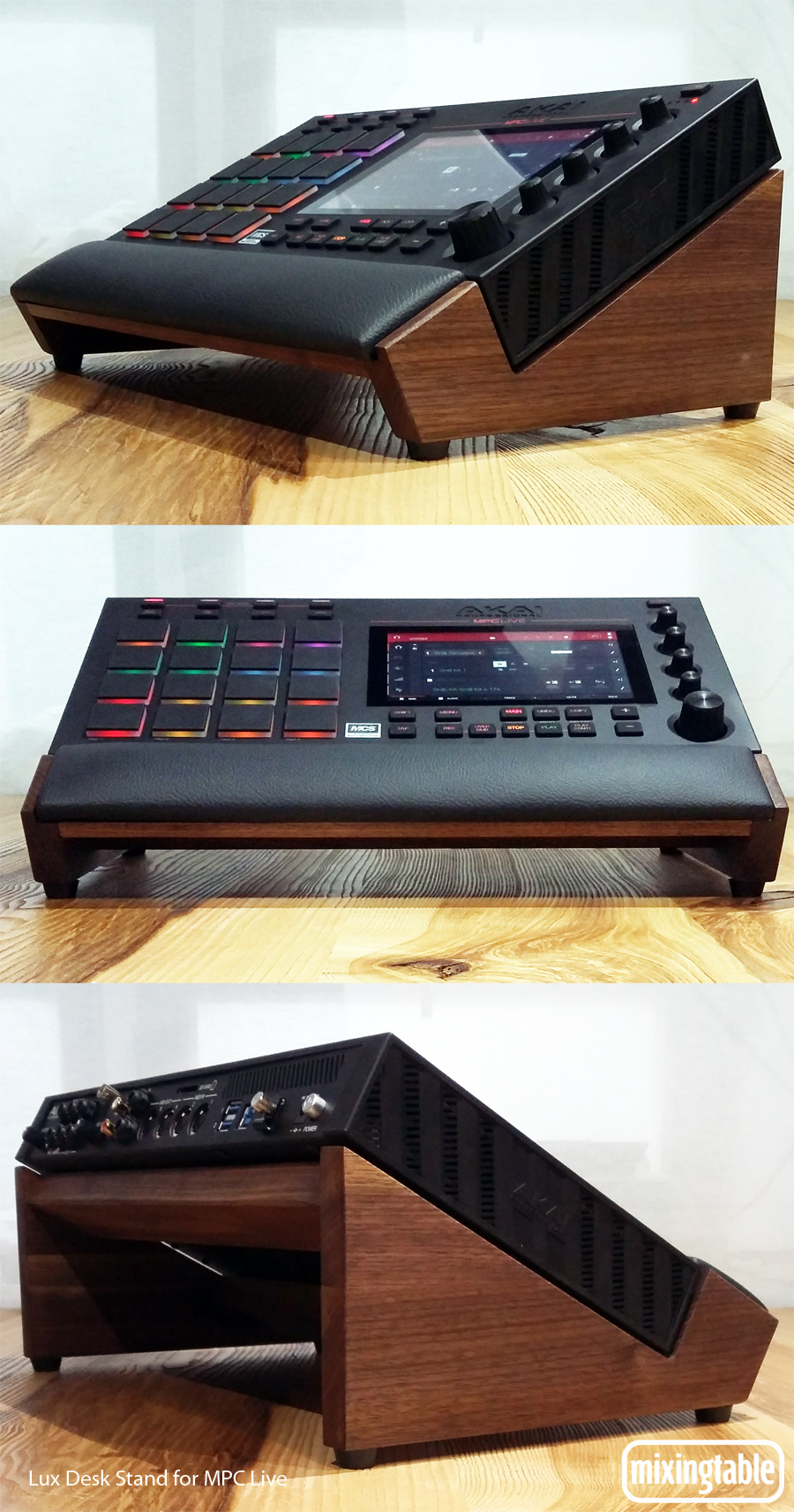 Lux Desk Stand for MPC Live | Mixingtable com