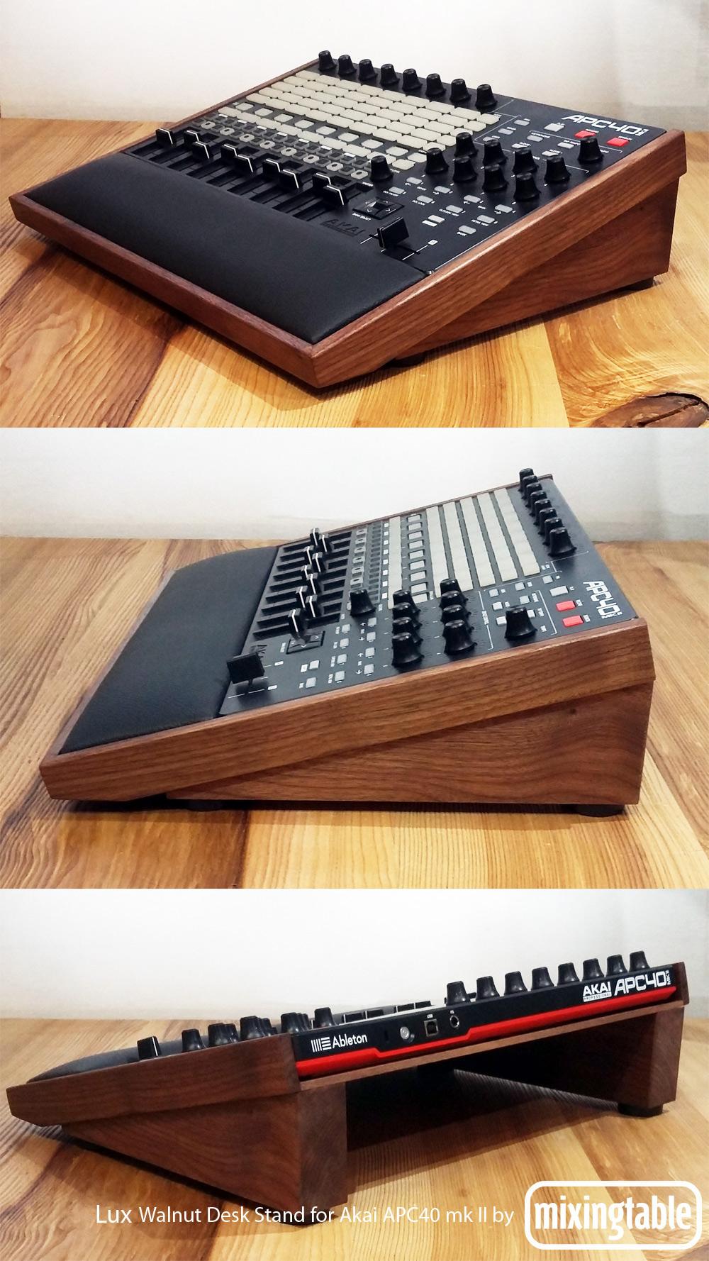 APC40 mk II Lux Desk Stand | Mixingtable com