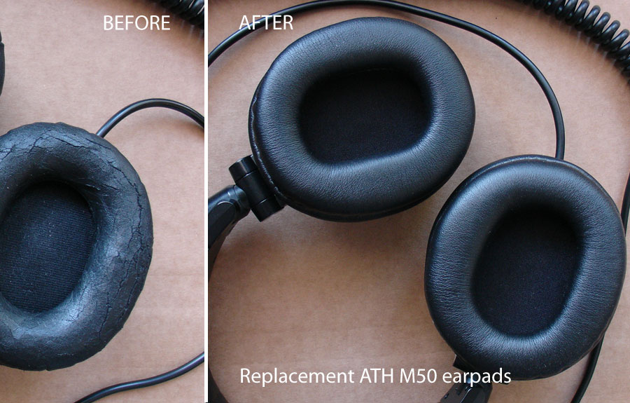 ath m50 replacement earpads